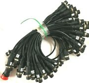 Amphenol Cable Assembly Overmold Lot Of 64 A04x00380 New Free Shipping