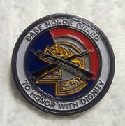 Authentic Holloman Air Force Base Afb Honor Guard Usaf Old Rare Challenge Coin