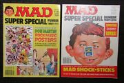 1978 Mad Magazine Super Special 25 Vg And 27 Vg+ Lot Of 2 No Inserts