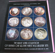 The Bruce Scher Collection Number One All-time Finest Pcgs Registry Sets 2005