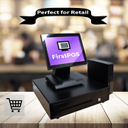 Firstpos 12in Touch Screen Pos Cash Register Till System Mobile Phone Repair