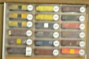 N Scale Cars Sold Individually, Mdc Ath Rbox Cr Cv Cnw Scl Sou Gt Atsf Sf Sp Wp