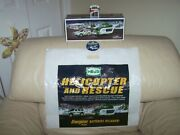 2012 Hess Helicopter And Rescue Combo- Truck,bag, Button, Batteries-mib