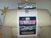 2006 Hess- Truck And Helicopter Combo- Truckbag Buttonbatteries-mib