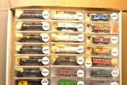 N Scale Cars Sold Individually, Mdc Tanks Cars And Misc Caboose Bn Sp Np Cr Co A