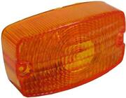 Indicator Lens Front L/h Amber For 1988 Suzuki Gs 125 Esf Front Disc And Rear