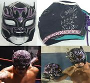 Extreme Tiger Signed Ring Worn Used Mask Bas Beckett Coa Aaa Lucha Libre Tna Mlw
