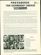 Terror In The Wax Museum 1973 Ray Milland, Elsa Lanchester Horror Press Book
