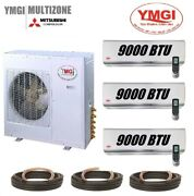 Ymgi 27000 Btu 3 Zone 21 Seer Ductless Mini Split Air Conditioner Heat Pump Nbs
