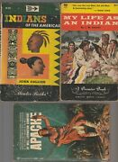 1947/56/68 Indians Of The Americas Paperback Lot Of 3 Vg-/vg+