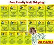 Just One Bite Ii Pellet Place Packs Rat And Mouse 20 Packs 1.5 Oz Pack