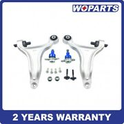 Front Lower Control Arms Ball Joints Kit Set Fit For Volvo V70 Xc70 2001-2007
