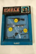 The Man From Uncle Toy Set, Gilbert, James Bond, Solo, 60s Spy, 007, Ian Fleming