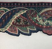 Wallpaper Border Victorian Paisley Die Cut Edge Pre-pasted 5.25 X 15 Ft- 3 Rolls