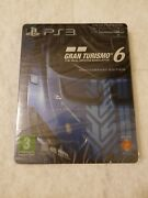 Gran Turismo 6 Steelbook Playstation 3 Ps3 Sold Out Sealed Limited Edition Rare