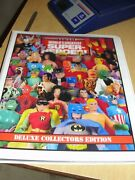 Mego Deluxe Collectors Album/book Tm 2016 By-ben Holcomb Mego Wgsh /photo Art