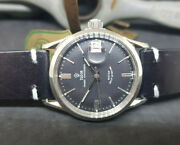 Vintage Rolex Tudor Oysterdate Small Rose Black Dial Auto Man's Watch