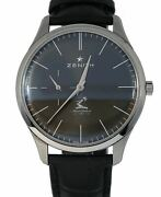 Zenith Elite Ultra Thin Hennessy Gray 40mm 03.2017.681 Stainless Steel Watch