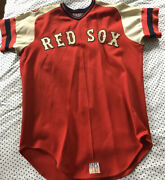 1975 Game Used Uniform Jersey/pants/pawtucket Red Sox 12 W/signed Program Coa