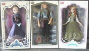 Anna, Elsa And Kristoff Disney Store Limited Edition Frozen Dolls Sold Out