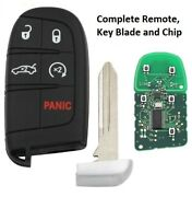 Smart Key Remote For Jeep Grand Cherokee Chrysler 300c 2011-2017 5 Button
