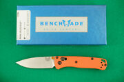 Benchmade 533 Mini Bugout Cpm-s30v Axis Lock Orange Handle New In Box