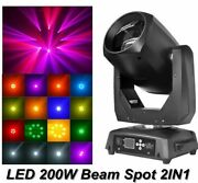 Spot Beam Head Light Music Led Disco Party Lights Dmx Stage Lighting Decorations