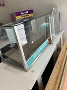 Commercial Pastry Bakery Display Case Optional Hot Plate . Tiers Of Glass Strip