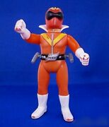 Bandai Soft Vinyl Action Figure Gorenger Red Vintage Toy From Japan Very Rare