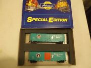 Ho Athearn Special Edition Great Northern Boxcar Set In Original Box