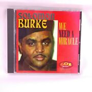 We Need A Miracle By Solomon Burke Cd Malaco Music Group 1997 Oop