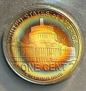2009-s Lincoln 1c Proof Presidential Years Anacs Pf69 Dcam Phenomenal Toning Chn