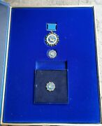 Very Rare Russian Badge Medal Order Dignity League Protection Of Human Security