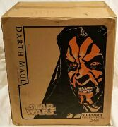 Sideshow Collectibles Darth Maul 11 Scale Bust Le 238/1000 Brand New In Box