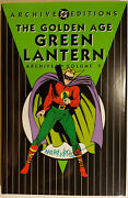 The Golden-age Green Lantern Archives Volume 2 Dc 2002 Signed By Mart Nodell