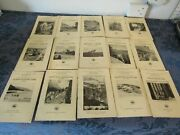 Antique Guide Books To American National Parks C 1932 Dept. Of The Interior Lot