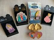 Disney Sleeping Beauty Set Of 5 Pins Some Limited Edition Phillip Princess Heart