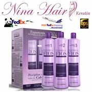 Cadiveu Treatment Keratin Hair Plastica Dos Fios Kit With Seal Of Authenticity.