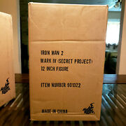 Hot Toys Mms 153 Iron Man Mark Iv Secret Project Limited Edition Collectible