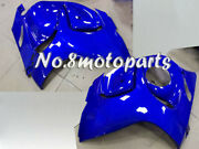 Fit For 2008-2018 Gsx-r 1300 New Blue Abs Injection Left Right Side Fairings A01