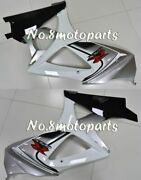 Fit For 2007-2008 Gsxr 1000 07 K7 Silver White Black Left Right Side Fairing A02