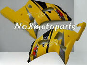 Fit For 2001-2003 Gsx-r 600 750 K1 New Left Right Side Fairings Black Yellow A16