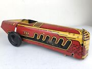 1950's Marx Tin Litho Indianapolis Speedster Race Car Toy As Is Parts