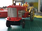 Vintage Marx Toy Reversible Diesel Electric Tractor 1950's Farming Tractor