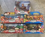 Sealed Marvel Super Hero Squad Figures, Various Waves And Packs You Pick