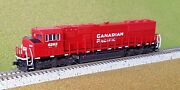 Atlas 1/160 N Scale Sd-60m Canadian Pacific Rd 6262 Nce For Dcc 40002077 F/s