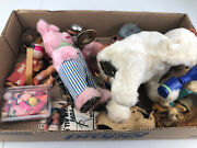 Vintage Wind Up Toy Parts Celluloid, Tin, And More Lot