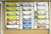 N Scale Cars Sold Individually, Micro-trains Covered Hopper Up Cbandq Gn Np Gt