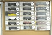 N Scale Cars Sold Individually, Micro-trains Hoppers Nw Rg Sp Atsf Sf Bando Cando Cl