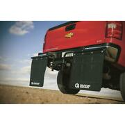 Hitch-mounted Mud Flaps 2 In Truck Rocks Universal Adjustable Heavy Duty Easy